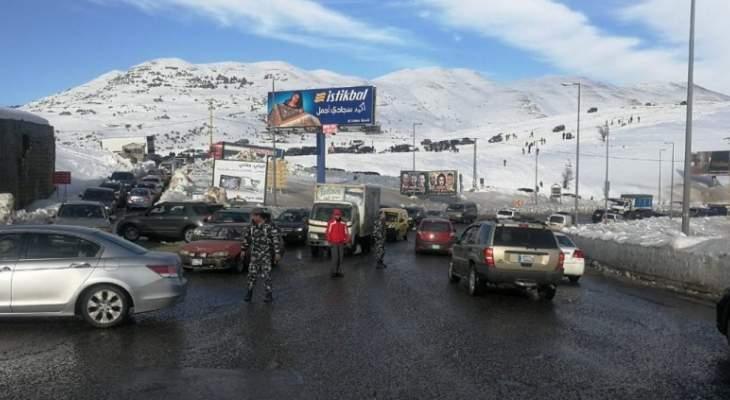 قوى الأمن حذرت المواطنين الذين يسلكون طريق ضهر البيدر: نصوّر المخالفين وننظم محاضر بحقهم