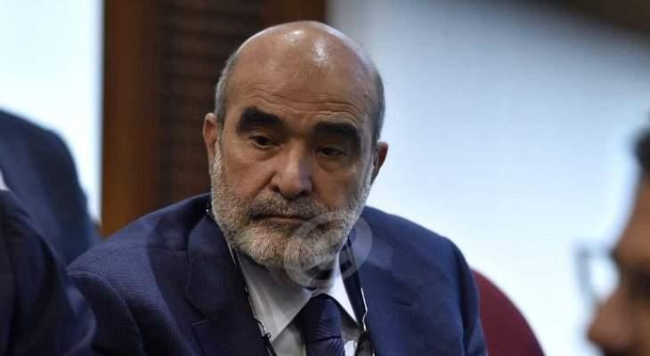 الأخبار:السبع طلب عدم الاستمرار بمنصبه بتار المستقبل بعد خلاف مع الحريري