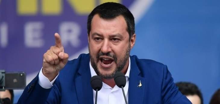 """وزير داخلية إيطاليا حذّر بروكسل بأنه """"الأكثر عنادا"""" في ملف الميزانية"""
