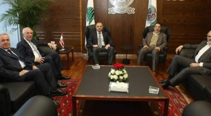 الحاج حسن بعد لقائه بوصعب: الاستقرار والأمن هما القاعدتان الأساسيتان لقيام الدولة