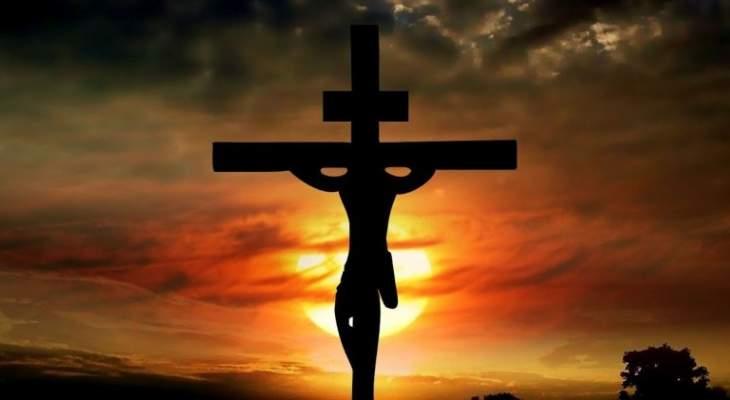إحياء يوم الجمعة العظيمة في كنائس الكورة