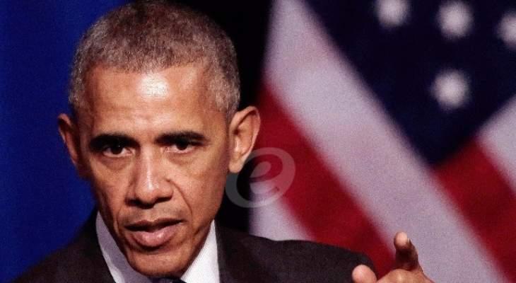 أوباما: نوتردام من أعظم كنوز العالم وعلينا بناء المستقبل بقدر ما أوتينا من قوة