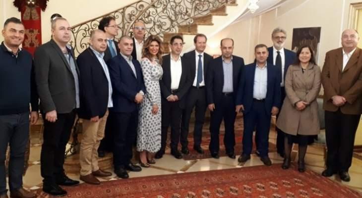 الحاج حسن: نقدر العلاقةمع إيطاليا التي تعد الشريك الأوروبي التجاري الأول للبنان