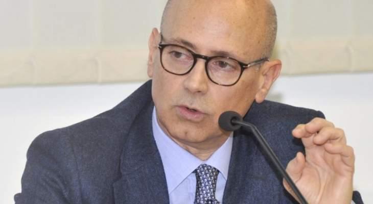 سفير إيطاليا في لبنان: المهم أن يؤدي اللبنانيون دورهم وتبقى مؤسسات الدولة متيقظة وناشطة