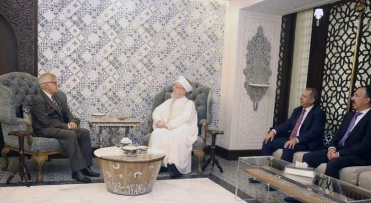 الشيخ قراقيره التقى السفير الروسي وبحث معه الوضع العام