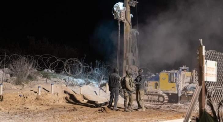 الجيش الإسرائيلي أعلن تفجير نفق جديد: حكومة لبنان مسؤولة عن حفر الأنفاق