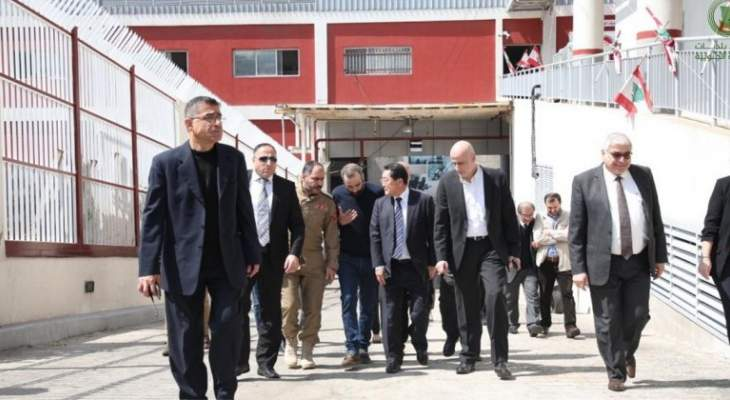 اتحاد بلديات الضاحية أطلع السفير ياماغوتشي على مشاريعه بدعم اليابان