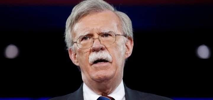 بولتون: أميركا لن تنسى الأمم والشركات التي تدعم سرقة مادورو للموارد الفنزويلية