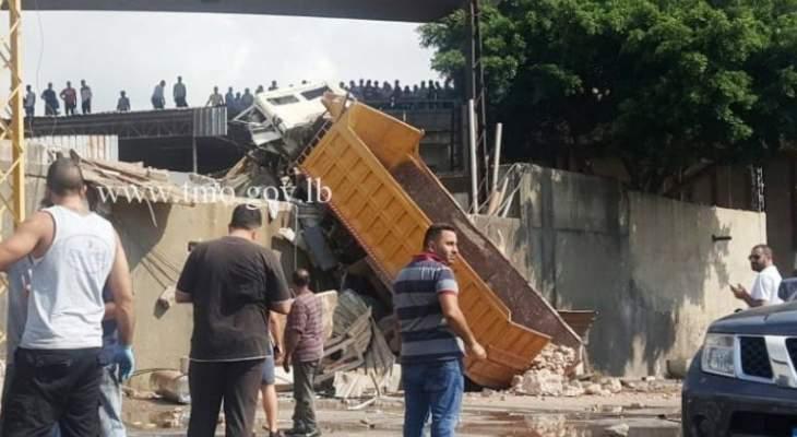 التحكم المروري: ارتفاع حصيلة القتلى في حادث زوق مصبح الى 3