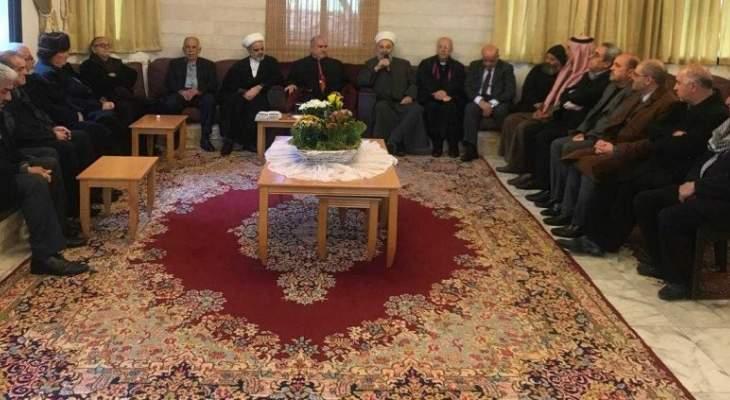 المفتي زغيب: نتمنى قيامة لبنان الدولة والمؤسسات القادرة على حماية الوطن