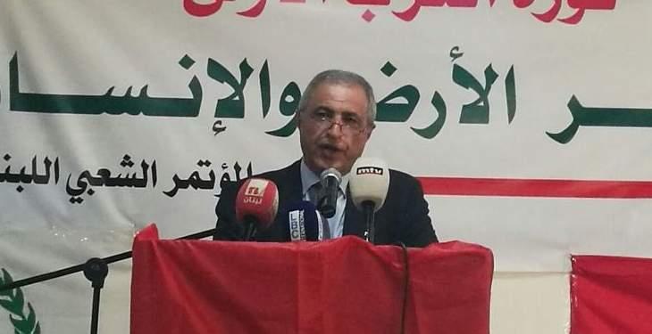 هاشم: الوزير يجب ان يكون جزءا لا يتجزأ من اللقاء التشاوري