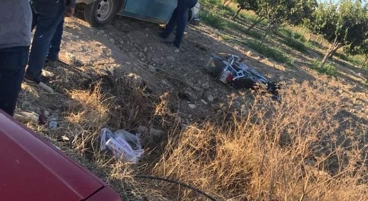 الدفاع المدني: جريحان إثر حادث سير في قصرنبا وإخمدا حريق أعشاب في إده