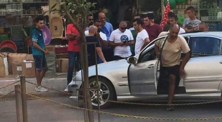 النشرة:حادث سير بين سيارتين على طريق بور سعيد الميناء-طرابلس والأضرار مادية