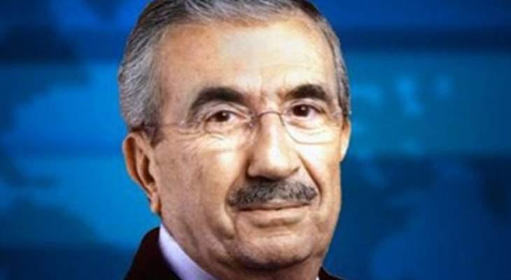 وصول جثمان النائب السابق ادغار فؤاد معلوف الى مطار بيروت