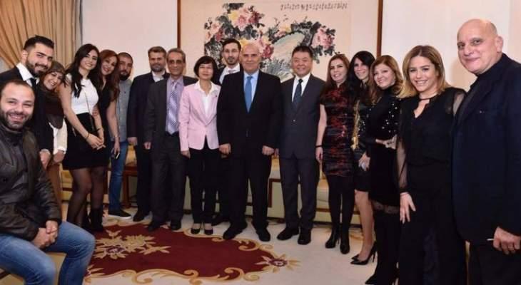فلحة:التعاون الاعلامي اللبناني الصيني يمثل دفعا اساسيا لتعزيز العلاقات