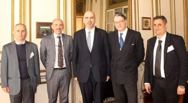 إنتخاب لويس لحود رئيسا لخبراء الأسواق وسلامة الغذاء بالمنظمة العالمية للكرمة والنبيذ
