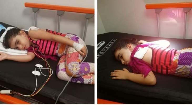 النشرة: إصابة طفلة برصاصة طائشة اخترقت رئتها في بيروت