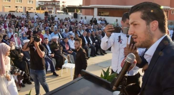 طلال المرعبي ممثلا الحريري:نؤمن بأنه سيدور الزوايا كافة وسيشكل حكومة قوية