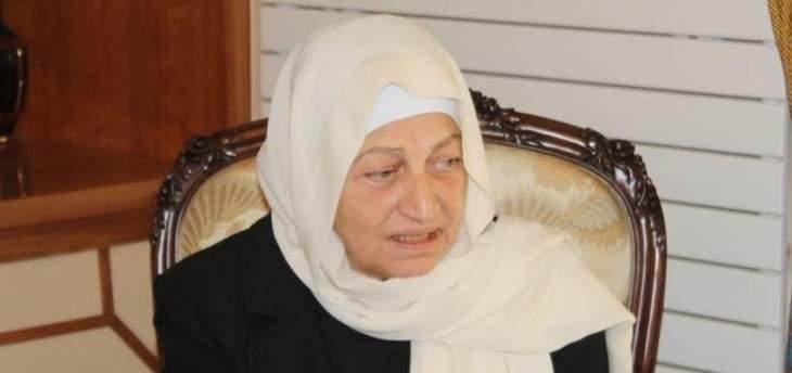 بهية الحريري: للإلتفاف حول مؤسساتنا الأمنية والعسكرية لمواجهة استهدافات جريمة طرابلس