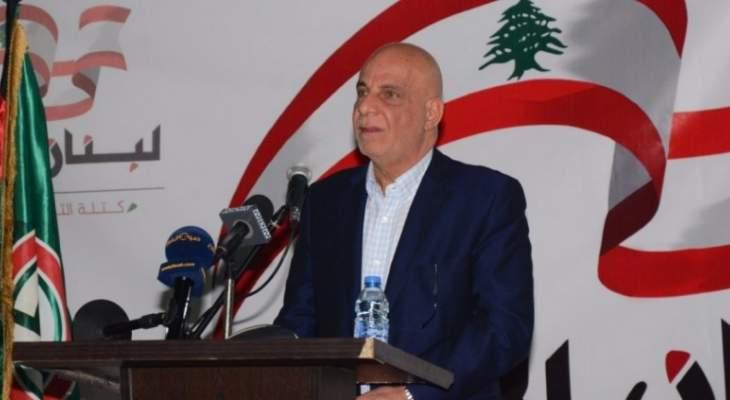 """خريس لتلفزيون النشرة عن دعوة ليبيا للقمة الإقتصادية: """"ما حدا يجربنا"""""""