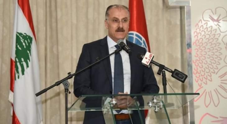 عبد الله: موضوع سلاح الجيش اللبناني مرتبط بمسألة الإستراتيجية الدفاعية