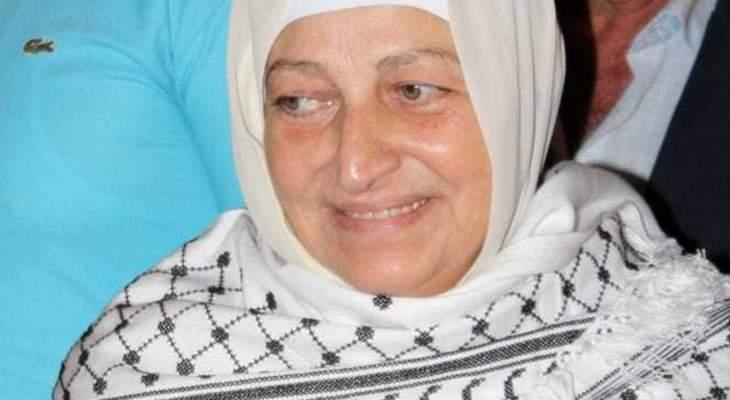 بهية الحريري: التلاحم مع الأخوة الفلسطينيين نابع من مسار طويل