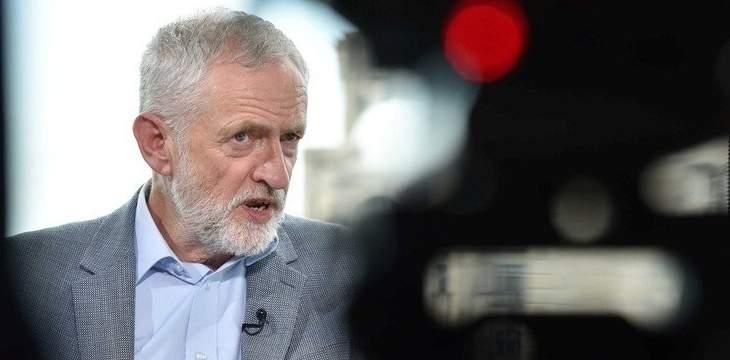 رئيس حزب العمال البريطاني المعارض يدعو إلى انتخابات مبكرة