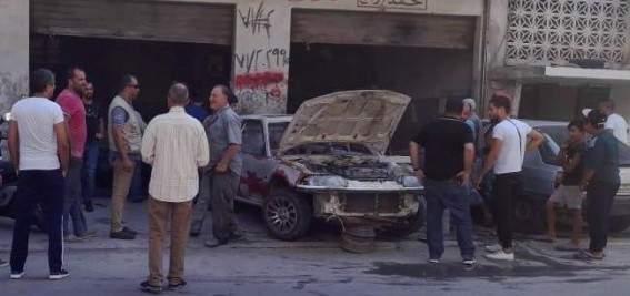 """النشرة: إنفجار برميل """"كاربير"""" في """"كاراج"""" بالمدينة الصناعية في صور"""