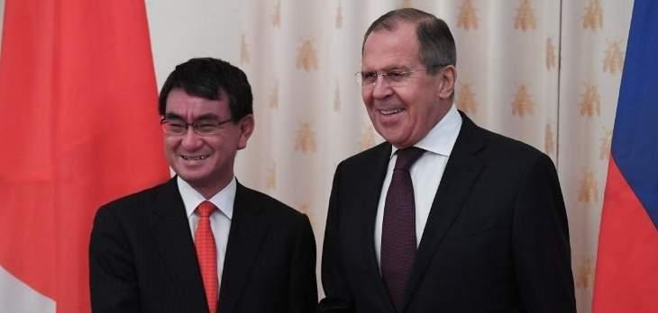 وزير الخارجية اليابانية يزور روسيا الإثنين بعد توتر حول جزر الكوريل