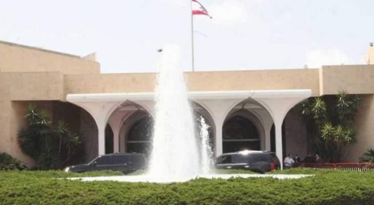 مكتب الاعلام بالرئاسة: لا صحة لادعاءات فارس سعيد ورضوان السيد