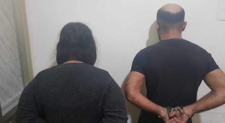 توقف رجل وزوجته ألفا عصابة سلب بقوة السلاح على متن فان في الشويفات