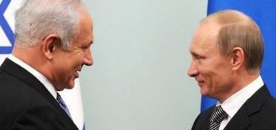 بوتين بحث في اتصال هاتفي مع نتانياهو الوضع بالشرق الاوسط