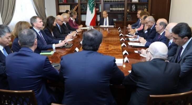 عون: عودة النازحين السوريين الى بلادهم لا يمكن ان تنتظر الحل السياسي