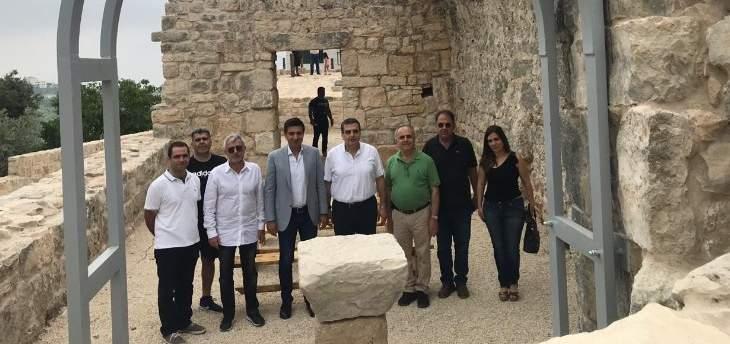جولة للقيمين على مشروع ترميم الكنائس التاريخية في كنائس منطقة جبيل