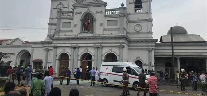 إرتفاع عدد ضحايا تفجيرات سريلانكا إلى 207 ومقتل 3 من الشرطة خلال مداهمة منزل