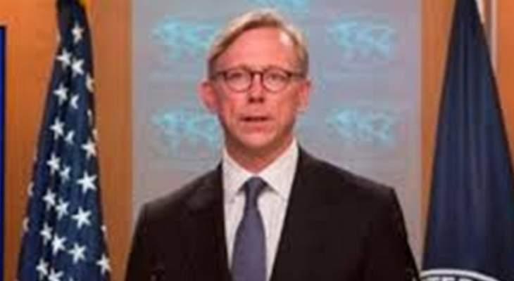 المبعوث الأميركي الخاص بإيران: واشنطن لا تريد حربا مع طهران