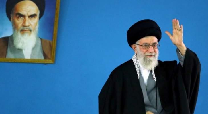 خامنئي: روحاني وظريف لم يقوما بواجبهما كما ينبغي لتنفيذ الاتفاق النووي