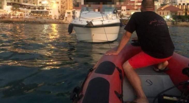وحدة الإنقاذ البحري تنقذ غطاسين اثنين فقدا في بحر صور