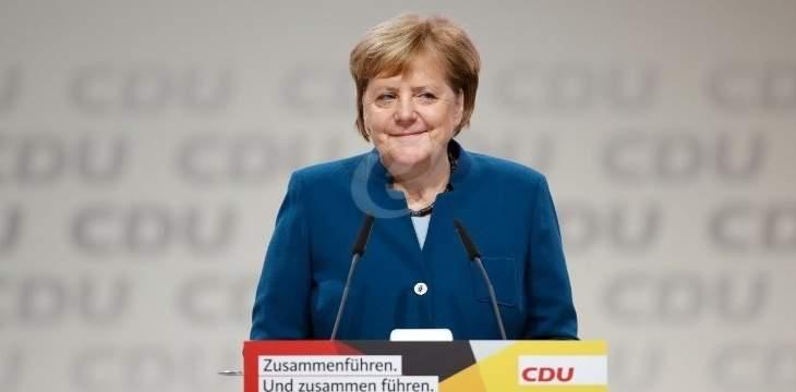 ميركل: نواجه تيارات تريد تدمير أوروبا وعلينا التصدي لذلك بحسم