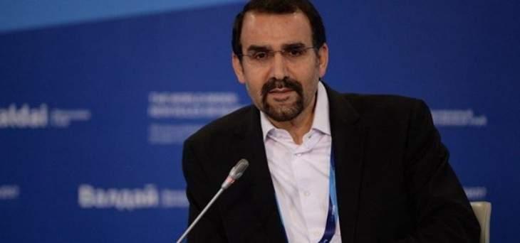 سفير إيران بموسكو: توقيع جميع الوثائق الاقتصادية المهمة بين إيران وروسيا