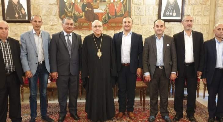 درويش استقبل وفدا من تحالف الجمعيات اللبنانية