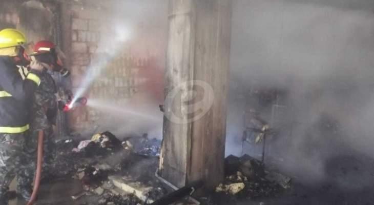 النشرة: إخماد حريق في منزل في مجدليون والأضرار اقتصرت على الماديات