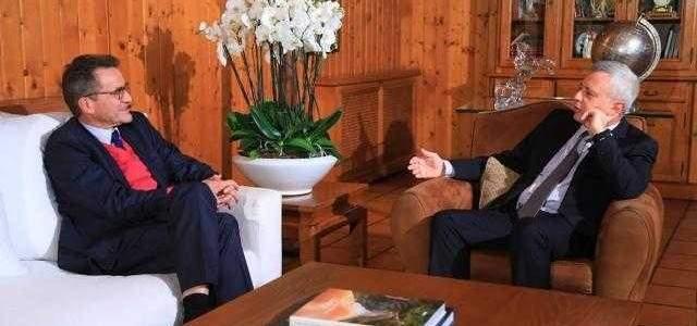 فرنجية يستقبل سفيري ألمانيا وكوريا الجنوبية في بنشعي