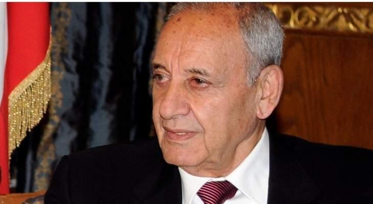 بري: في اجتماع الناقورة لم يقدم الإسرائيليون معلومات حول مزاعمهم