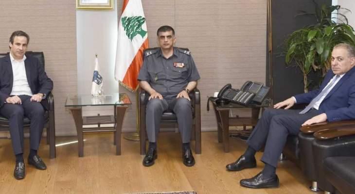 اللواء عثمان عرض مع معوض الأوضاع العامة في البلاد