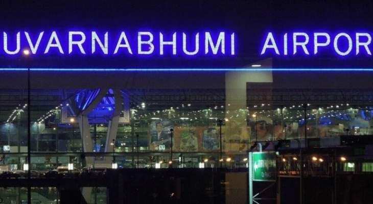 خروج طائرة ركاب عن مسارها أثناء الهبوط في بانكوك واصابة راكب واحد