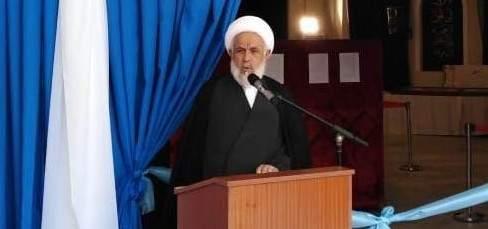 الشيخ ياسين: إيران هي رأس الحربة في مواجهة الإرهاب الصهيوني والتكفيري
