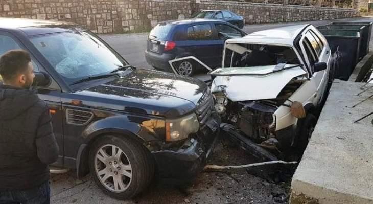 الدفاع المدني: جريح جراء حادث سير في ريفون- كسروان