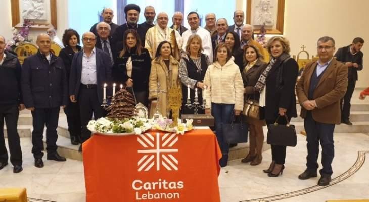 كاريتاس لبنان اقليم زحلة أقام قداساً بمناسبة انطلاق حملة صوم 2019