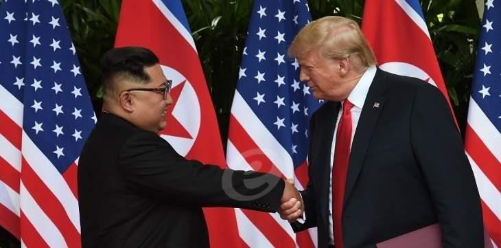 ترامب: قمة سنغافورة مع كيم ساهمت في تجنيب العالم كارثة نووية